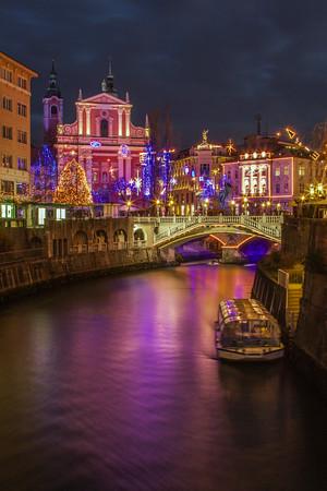 Christmas time in Ljubljana