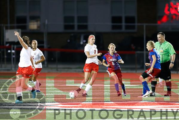 08-30-16 BHS Girls Soccer vs Liberty