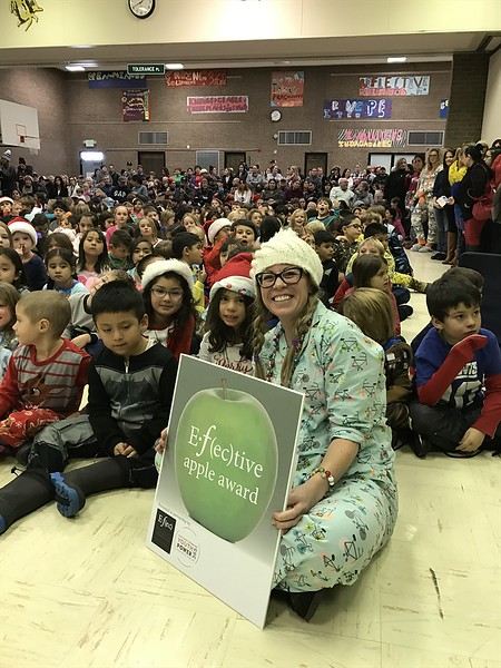 Libby Navarro - November 2016 Winner - Eagle Valley Elementary School