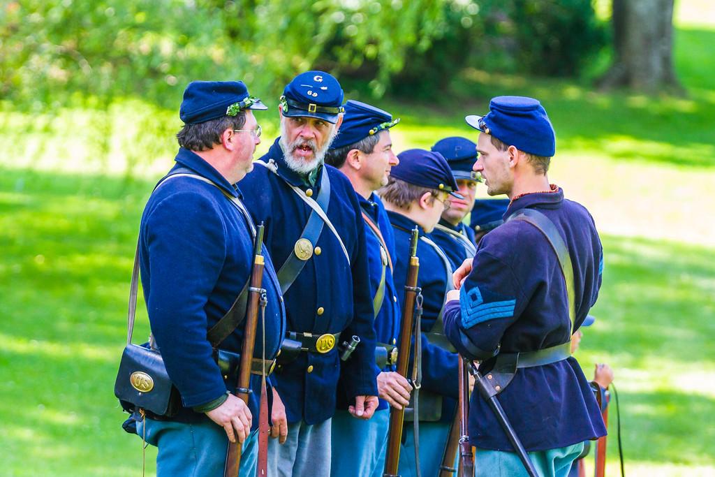 纪念美国内战,纪念历史
