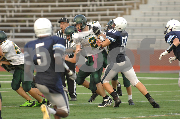 Jeff vs Kennedy Soph Football