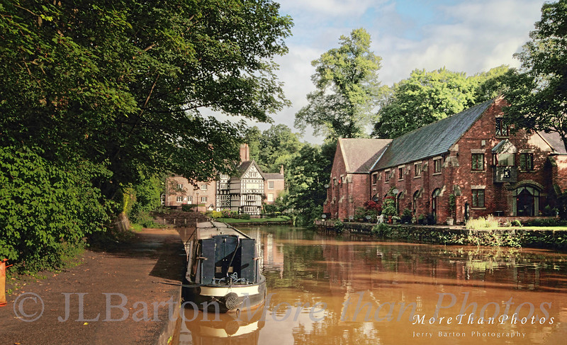 Where it all started Worsley, where the Duke of Bridgewater had a canal built to haul coal to Manchester.  It kicked off the canal building boom.