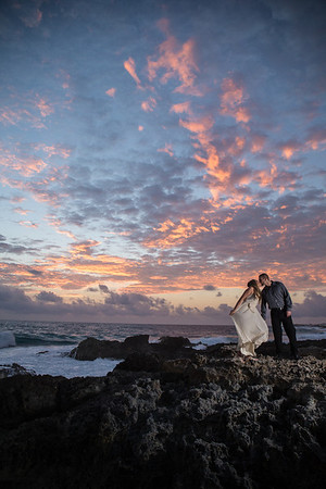 Post Wedding Photography Isla Mujeres Mexico Emily + Derek