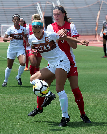 University of Texas Soccer vs. Western Kentucky 8.20.2017