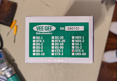 2020-02-19 - New replacement VEE GEE STX-3 screwdriver comparison to first one
