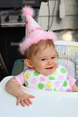 Lauren's 1st Birthday 8-16-2009