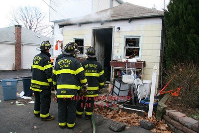 Revere, MA - Working Fire, 27 Flint Street, 11-27-08