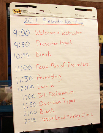 2011 Presenters Workshop