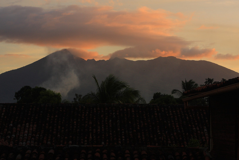 Volcano Mombacho - Always looming over town in the background
