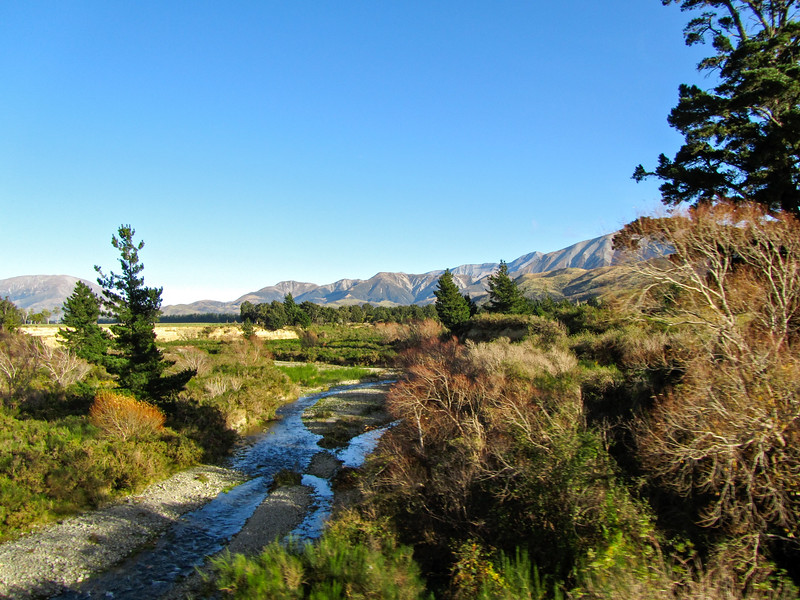 New Zealand South Island scenery