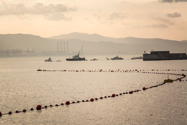 Gibraltar mariners hold procession to bless Gibraltar waters