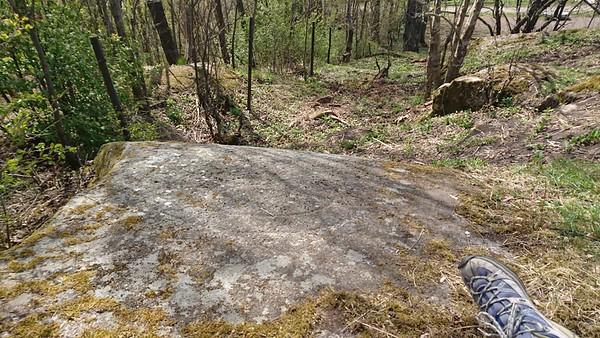 Rune stone visit May 2017
