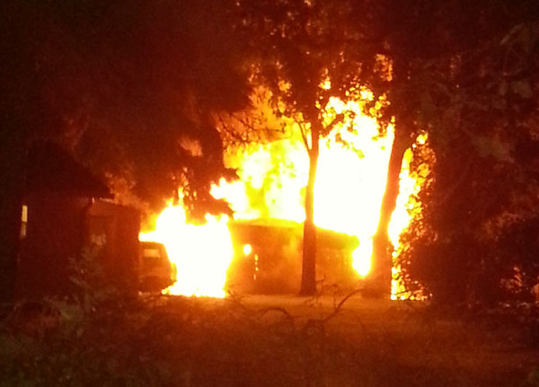9-30-2012(Camden County)PENNSAUKEN 8400 blk. Sheppard Rd-Garage