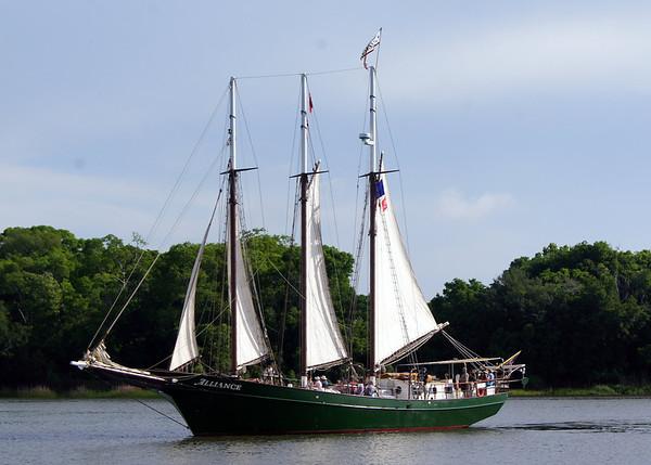 Savannah Tall Ship Festival- May 2012