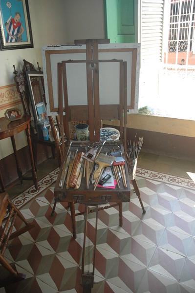 Artist home in Trinidad - Leslie Rowley