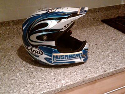 Arai Helmet by Hellion Designs