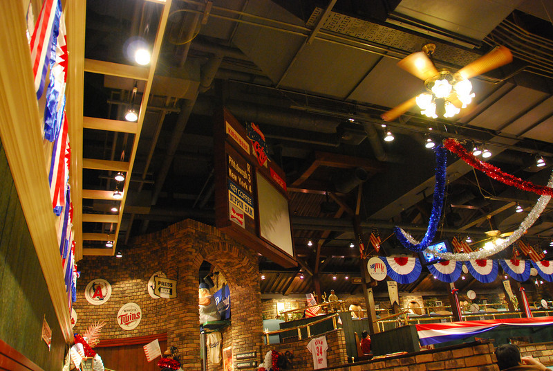 Baseball Cafe at Tokyo Dome.  Coincidentally, the MLB is in town for several games.