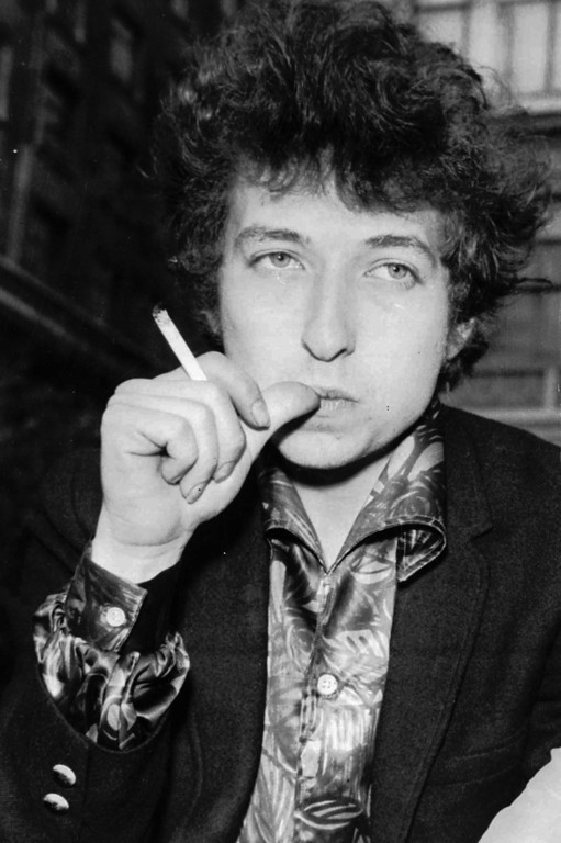 . Singer Bob Dylan is seen in London on April 27, 1965. (AP Photo)