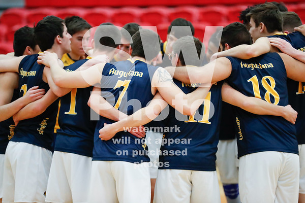 1.20.2019 - Augustana Men's Volleyball vs. Stevenson