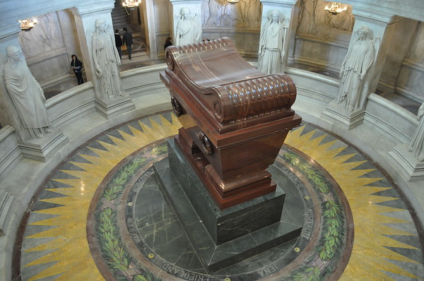Napolian's Tomb - Paris, France - Tue., Nov. 13, 2918