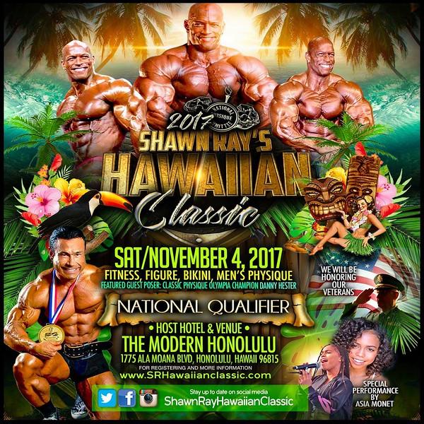 2017 Shawn Ray Hawaiian Classic