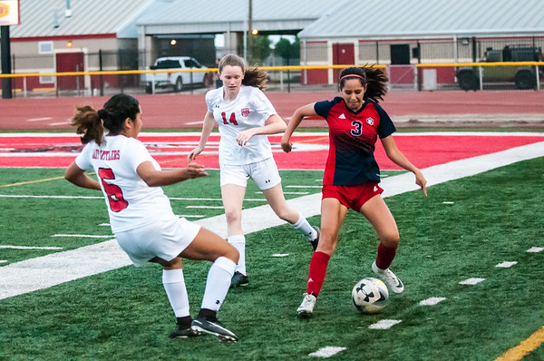 April 3, 2018 - Soccer - Girls - CC VMHS vs Sharyland Lady Rattlers_LG