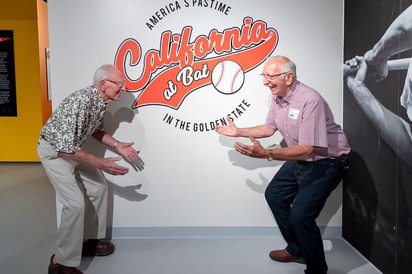 California at Bat Exhibit