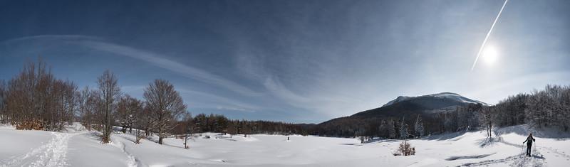 Lago Calamone in Winter - Ramiseto, Reggio Emilia, Italy - February 28, 2018