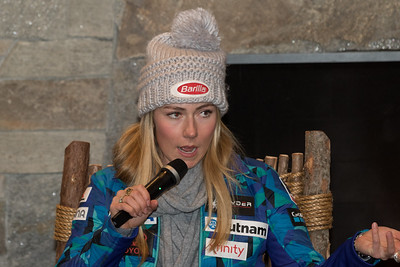 Killington WC - Press Conference and Bib Draw 11/24/17