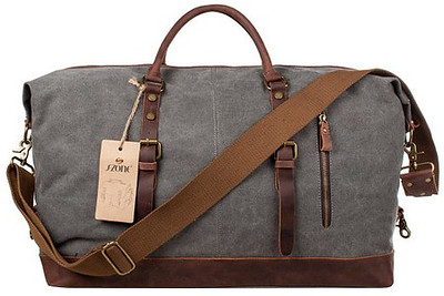 Oversize Canvas Weekend Bag | Holiday Gifts for Travelers