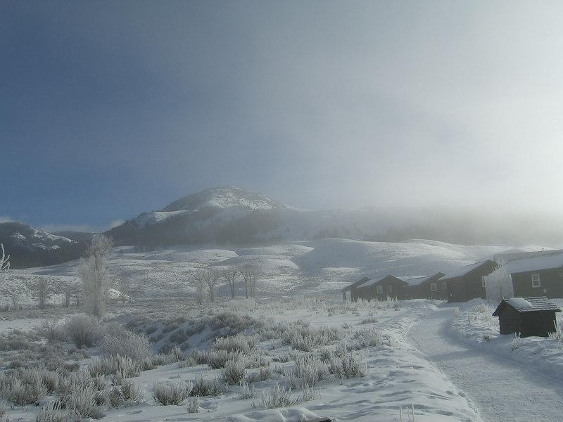 early morning inversion at Buffalo Ranch