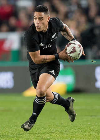 Aaron Smith during game 10 of the British and Irish Lions 2017 Tour of New Zealand, the third Test match between  The All Blacks and British and Irish Lions, Eden Park, Auckland, Saturday 8th July 2017 (Photo by Kevin Booth Steve Haag Sports)  Images for social media must have consent from Steve Haag