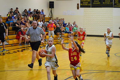Girls JV Basketball & JV Cheerleaders