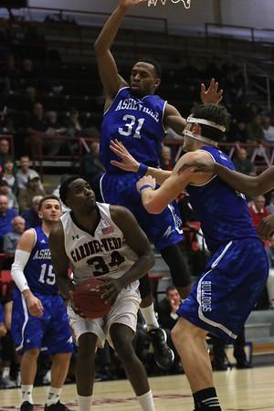 Mens Basketball vs Asheville