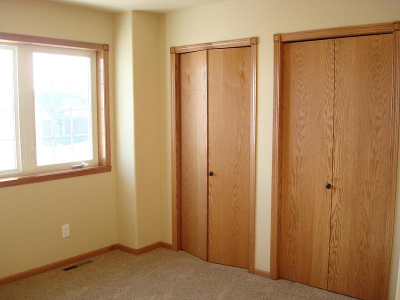 Bedroom and closet doors