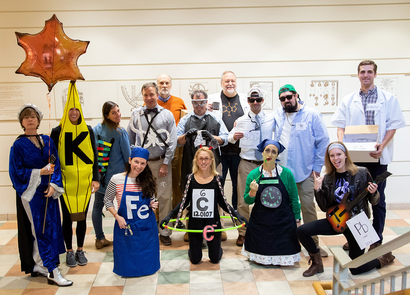 Halloween 2018 faculty/staff costume contest
