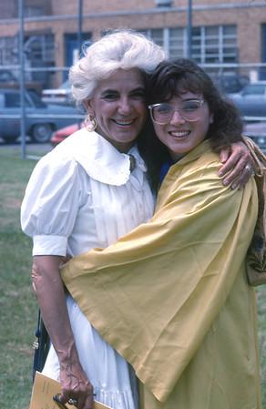 Carmen's High School Graduation 1990
