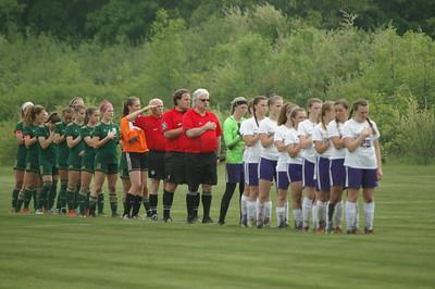HS Sports - Allen Park Inter-City vs. Monroe SMCC Girls Soccer District
