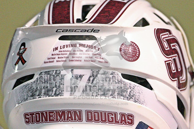 3/13/2018 - Barron Collier vs. Stoneman Douglas - Cumber Stadium at Marjory Stoneman Douglas High School, Parkland, FL