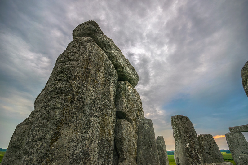 Stonehenge Trilithon at Dawn