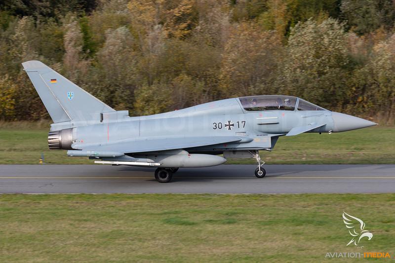 German Air Force  / Eurofighter Typhoon EF2000(T) / 30+17
