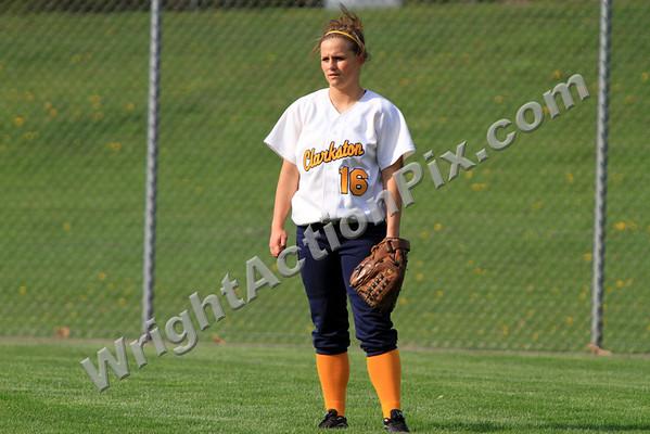 2010 04 21 Clarkston Varsity Girls Softball vs Farmington High School