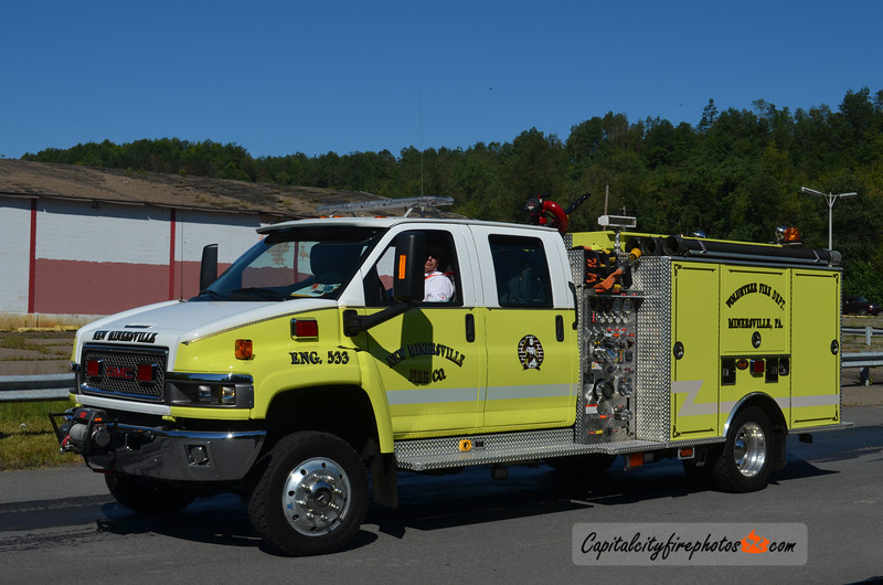 Minersville (New Minersville Fire Co.) Engine 533: 2005 GMC/KME 500/250/25