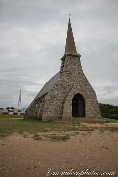Etretat, la Chapelle