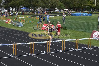 UP Boys and Girls 300M Hurdles - 2013 MHSAA UP Track Finals