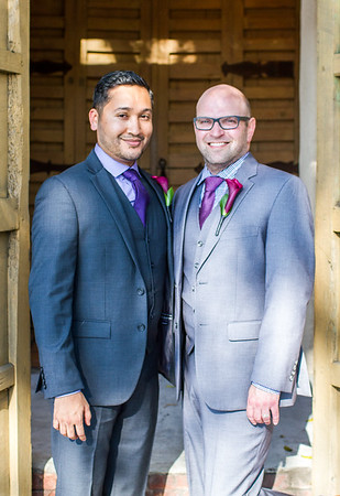 Bradley Wedekind & Javier Flores