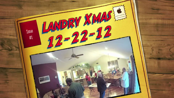 Landry Christmas 12-22-12