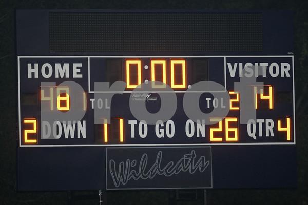 Varsity-Odessa vs Harrisonville 10-2-09
