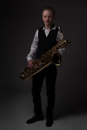 Studio Portraits with Bari Sax - 2/2/17