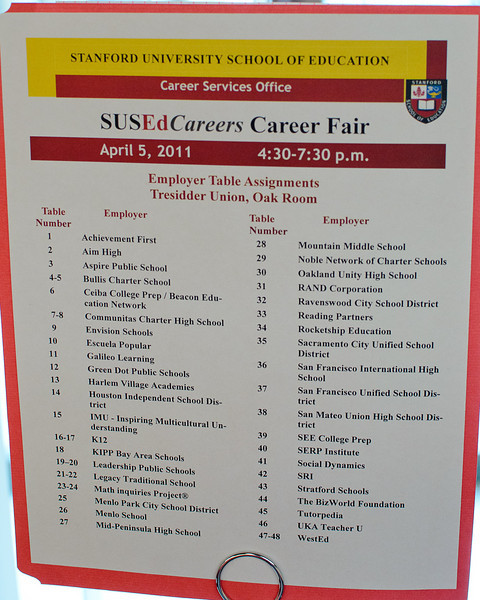 Career Fair 2011